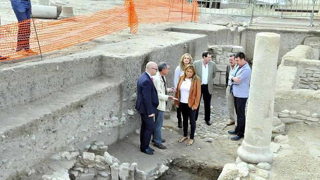 La Junta y la Diputación ultiman los detalles de la nueva cubierta para conservar Cástulo