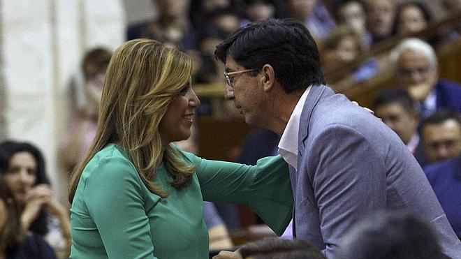 PSOE y Ciudadanos alcanzan un pacto sobre el Presupuesto de la Junta para 2016