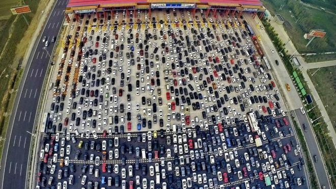 Atrapados en la autopista