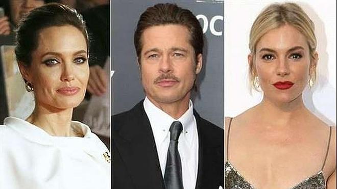Angelina Jolie prohíbe a Brad Pitt ver a Sienna Miller