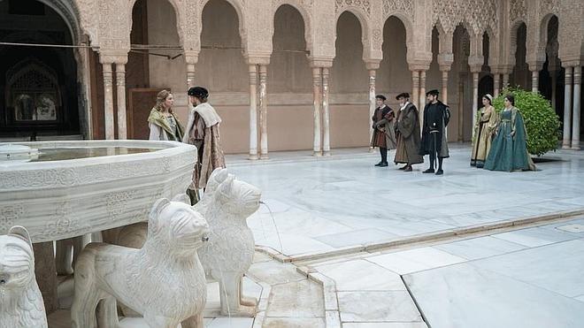Así de hermosa lució Granada en Carlos Rey Emperador