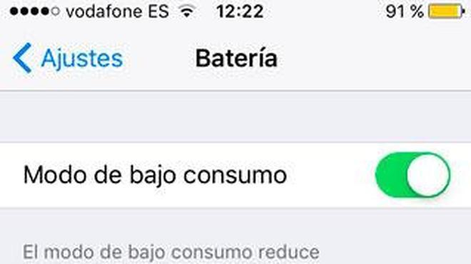 Cómo ahorrar batería con tu nuevo iPhone o iPad con iOS 9