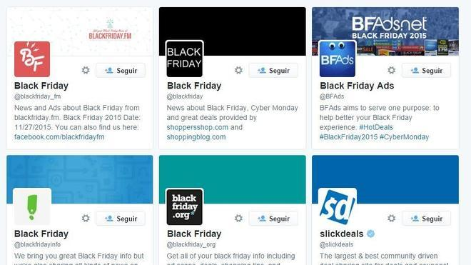 Black Friday en Twitter: cómo no perderte nada