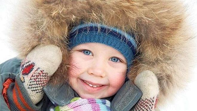 Prepara a tus hijos para las bajas temperaturas
