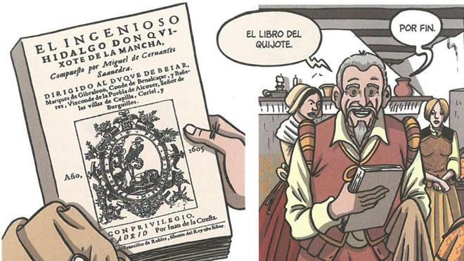 El nuevo Quijote: un biopic de Cervantes que es a la vez cómic y teatro