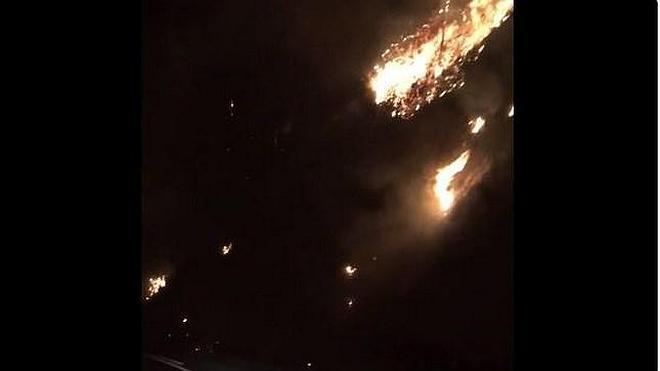 Espeluznante vídeo que muestra la tragedia de los más de 100 incendios simultáneos en Asturias