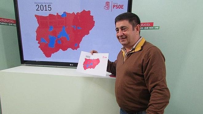 """Reyes: """"Ha vuelto a quedar demostrado que el PSOE es el partido de la provincia de Jaén"""""""