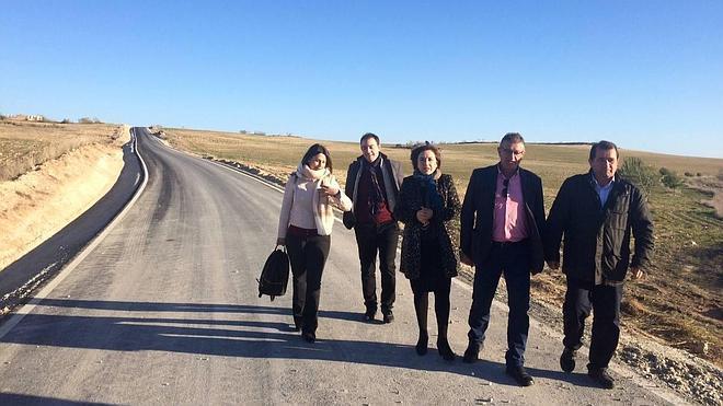 La Junta invierte 2,2 millones en la mejora de un camino rural de 24 kilómetros