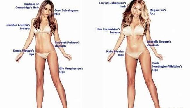 Descubre cuál es el cuerpo ideal para hombres y mujeres