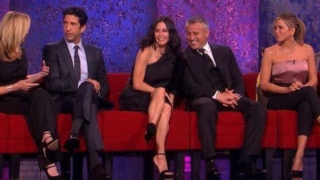 Así fue el especial que reunió al elenco de 'Friends' tras 12 años