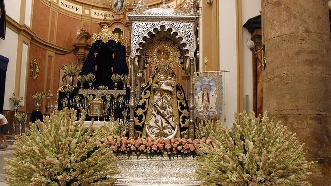 El Papa aprueba la coronación de la patrona de Berja