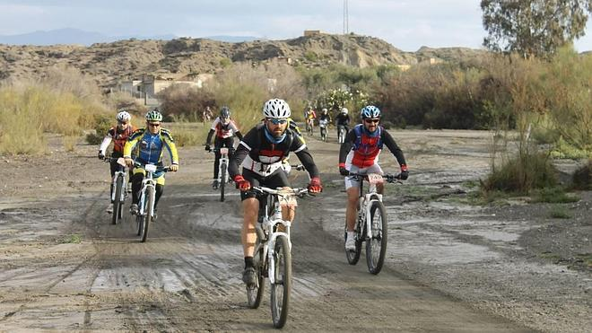 La mountain bike invade El Ejido