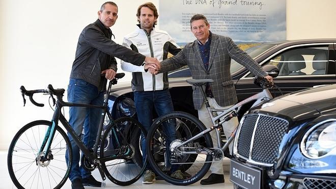 La marca de bicicletas Whyte será la nueva herramienta de trabajo del piloto Andy Soucek fuera de los circuitos