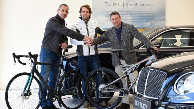 La marca de bicicletas Whyte, nueva herramienta de trabajo del piloto Andy Soucek fuera de los circuitos