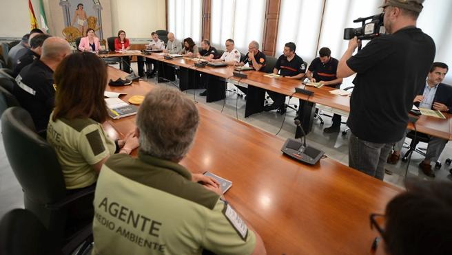 Cerca de 700 personas integran el operativo del Plan Infoca para actuar contra los incendios