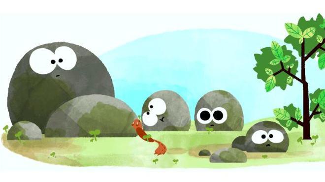 Google dedica su doodle a un solsticio de verano histórico