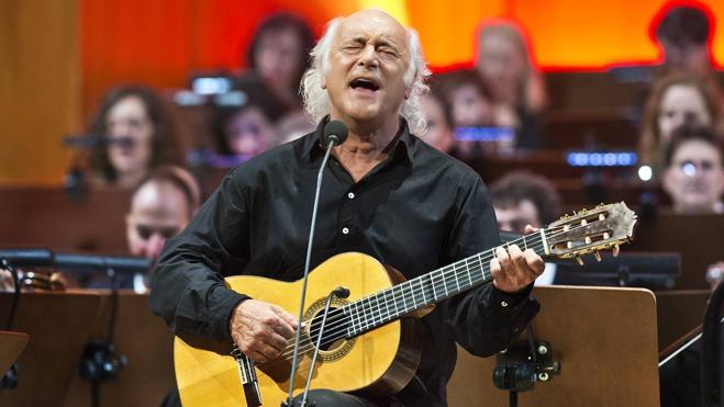 Mística y música se unen en el recital de Amancio Prada y la Orquesta de RTVE