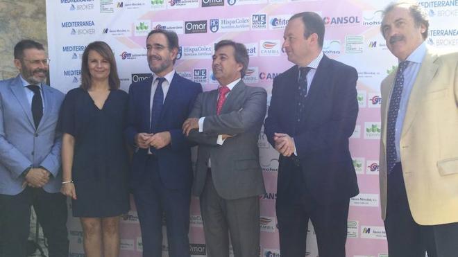 López anuncia la conexión de Geolit con la A-44 y pide colaboración al Estado
