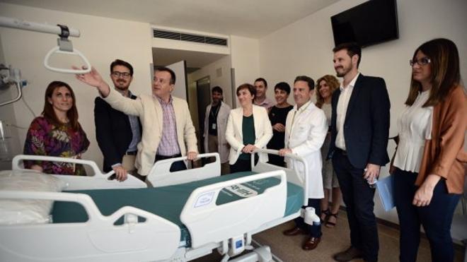 Más de 850 profesionales participan en la 'mudanza' del hospital