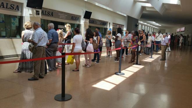 Facua exige a ALSA una mejora del servicio de venta de billetes en la estación de autobuses
