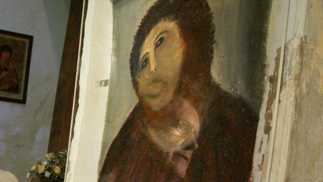 La autora del ecce homo ya tiene su propio museo en Borja
