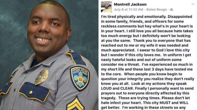 El emotivo mensaje de despedida de uno de los policías asesinados en EE.UU