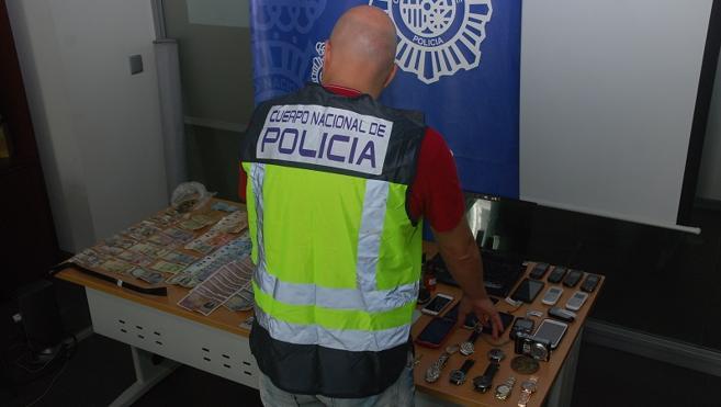 La Policía desarticula un entramado criminal especializado en asaltar viviendas deshabitadas