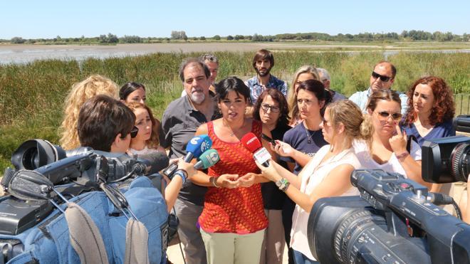 Podemos hace bandera de la negativa a un proyecto de Gas Natural en Doñana
