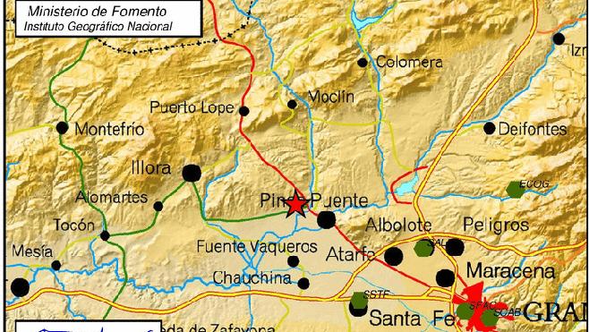 Un terremoto de 2'4 grados sorprende a los vecinos de Pinos Puente