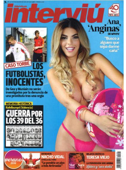Interviú Desnuda A Ana Anginas De Myhyv Ideal