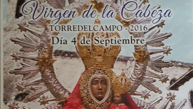 Primera procesión de la Virgen de la Cabeza de Torredelcampo