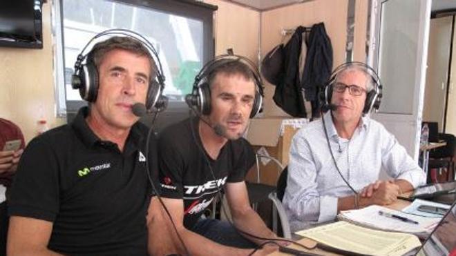 Bromean en directo contra el tumor de un ciclista durante 'La Vuelta' en TVE
