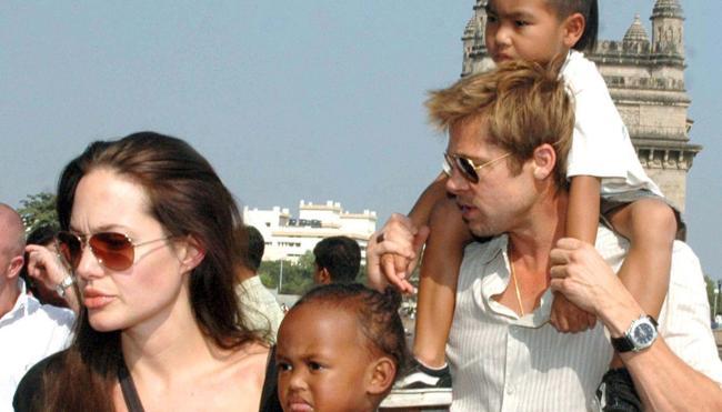 Brad y Jolie, el divorcio se calienta