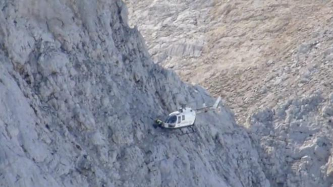 Impactante rescate de la Guardia Civil en los Picos de Europa