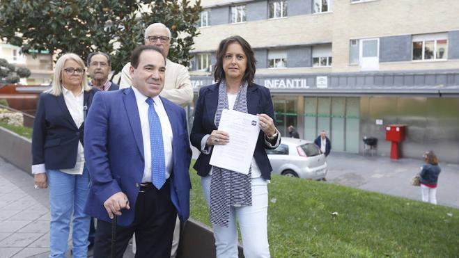 El PP quiere parar el traslado del Hospital Maternal