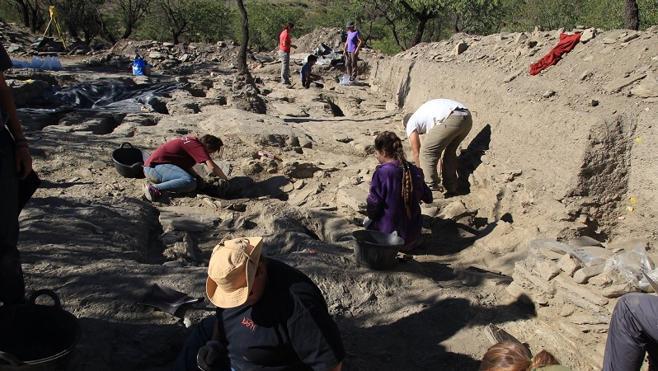 Localizan una mezquita rural en un yacimiento arqueológico de Lanteira