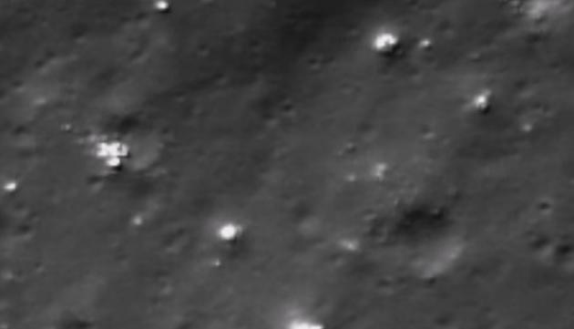 ¿Extraterrestres en la luna?
