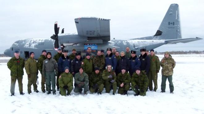 Vuelo de observación conjunto de Canadá y España sobre la Federación de Rusia y la República de Belarús