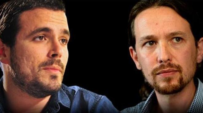 Los mensajes de Pablo Iglesias y Alberto Garzón sobre la muerte de Rita Barberá
