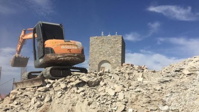 La destrucción del Santuario de Monteagud, patrimonio histórico