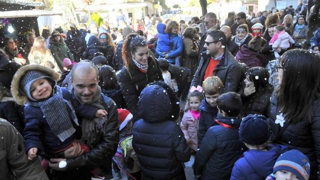 Una Navidad en familia en Linares