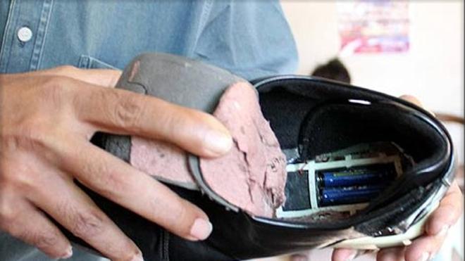 """Detenido un marroquí que preparaba un """"zapato bomba"""" para una operación suicida"""