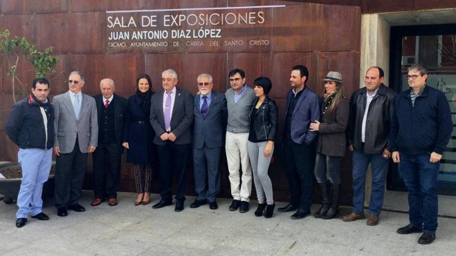 Cabra de Santo Cristo homenajea a los artistas Juan Antonio Díaz y Francisco Fernández