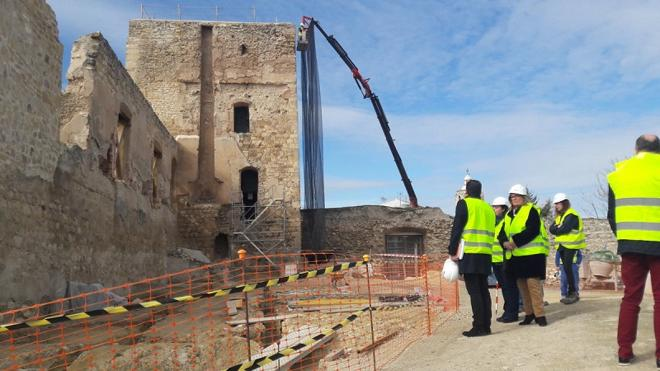 Así está ya el reformado Castillo de Villardompardo