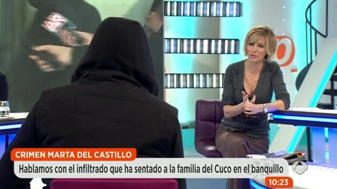 Caso Marta del Castillo: «Vi a tres jóvenes empujando una silla de ruedas hacia el río»