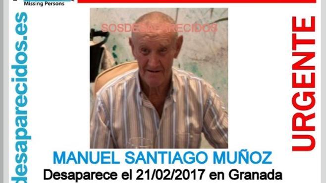 Encuentran en Pinos Puente al mayor desaparecido en Granada