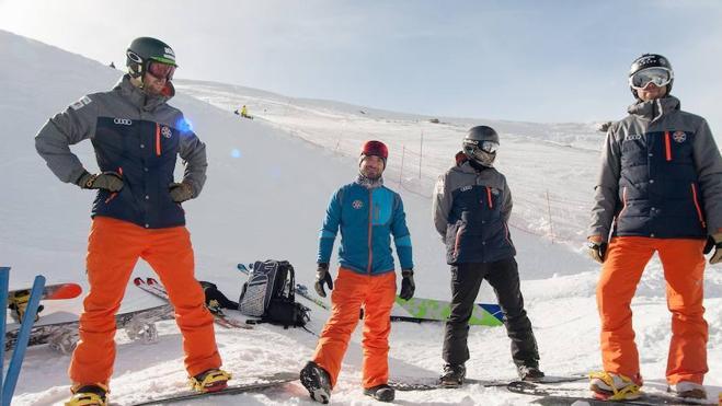 'Stay focus', el lema de los snowboarders españoles de SBX