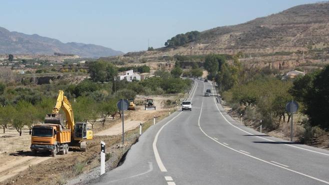 Atención: cortes intermitentes en la carretera entre Albanchez y Lubrín
