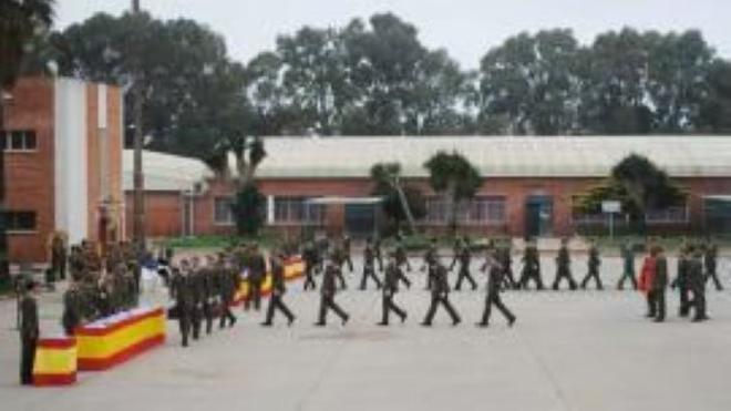 Nuevos soldados finalizan su preparación en el Centro de Formación de Tropa