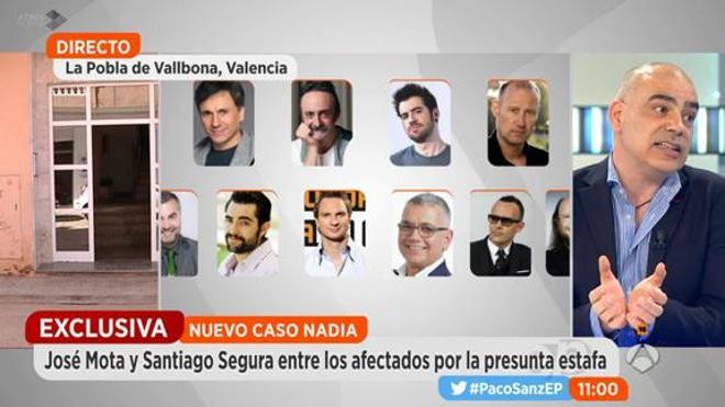 Presunta estafa de Pablo Sanz a diferentes famosos de TV